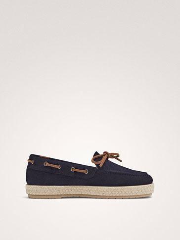 JUTE DECK SHOES