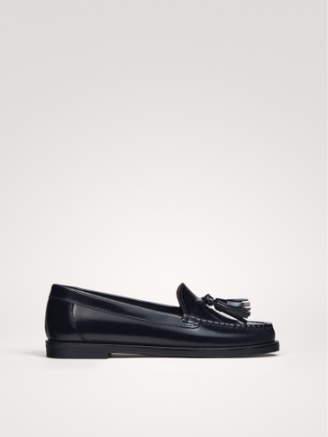 BLUE TASSEL LOAFERS
