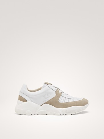 WHITE FASHION TRAINERS