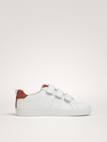 NAPPA PLIMSOLLS WITH FASTENINGS