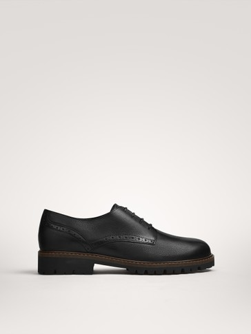 NAPPA LACE-UP SHOES