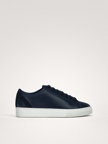 SNEAKERS IN NAPPA BLU