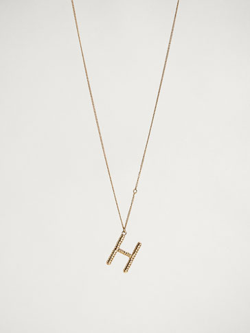 ONLINE EXCLUSIVE LETTER H NECKLACE