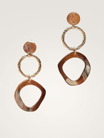 DOUBLE-HOOP EARRINGS
