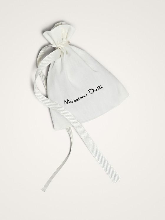 Massimo Dutti - RAFFIA HOOP EARRINGS - 5