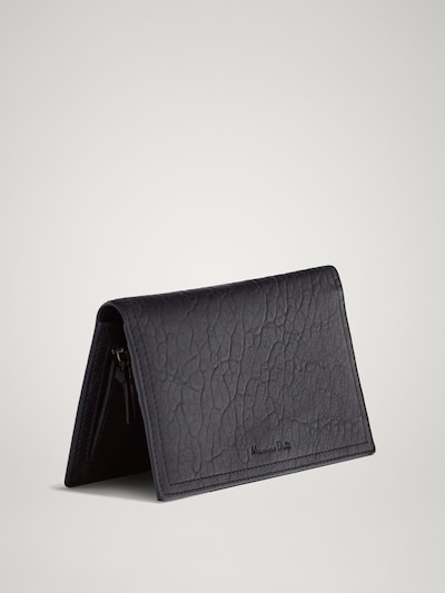 eff05af13 TEXTURED LEATHER PURSE-CARD HOLDER - Women - Massimo Dutti