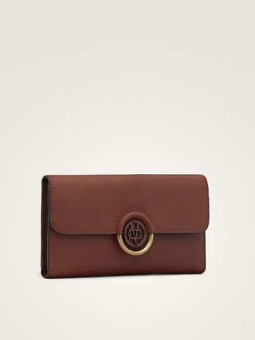 NAPPA PURSE WITH LOGO