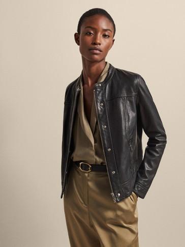Vêtements Pour Été Femme Printemps Massimo Dutti Cuir 2019 U7wHUz