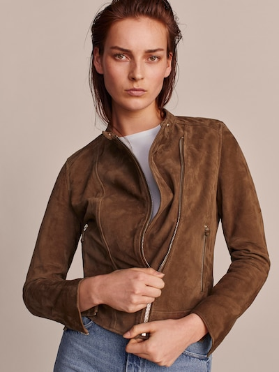 ef66caa29e0 Leather jackets - Coats & Jackets - COLLECTION - WOMEN - Massimo Dutti