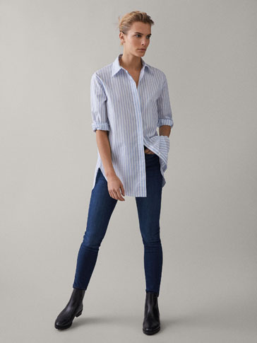 JEAN TAILLE HAUTE SKINNY FIT