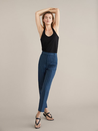 6c588772a3d View all - Trousers - COLLECTION - WOMEN - Massimo Dutti - India