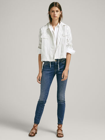 0a17c6e6bc5 MID-RISE SKINNY JEANS