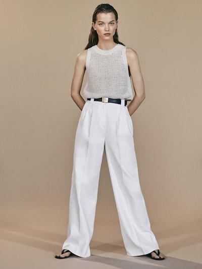 56dabdd3e11ee8 View all - Trousers - COLLECTION - WOMEN - Massimo Dutti - United Kingdom