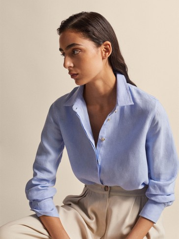 2ffe28e1 Women's Shirts and Blouses | Massimo Dutti Spring Summer 2019