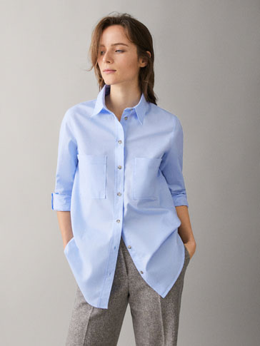 OXFORD SHIRT WITH POCKETS