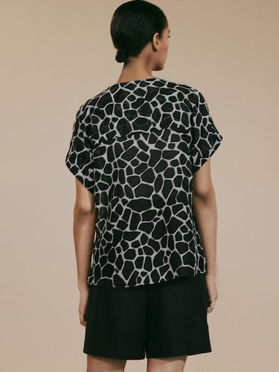 71d6220a LIMITED EDITION GIRAFFE PRINT SHIRT - Women - Massimo Dutti