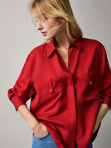 LYOCELL SHIRT WITH POCKETS
