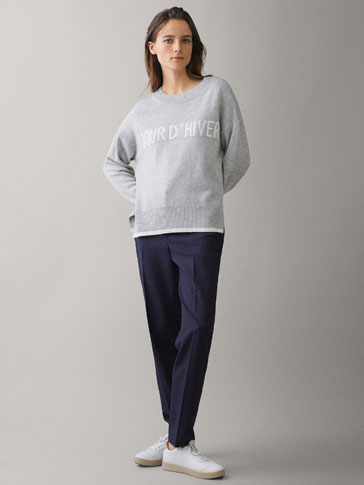 JOUR D'HIVER WOOL SWEATER