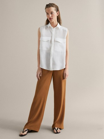 RAMIE SHIRT WITH POCKETS