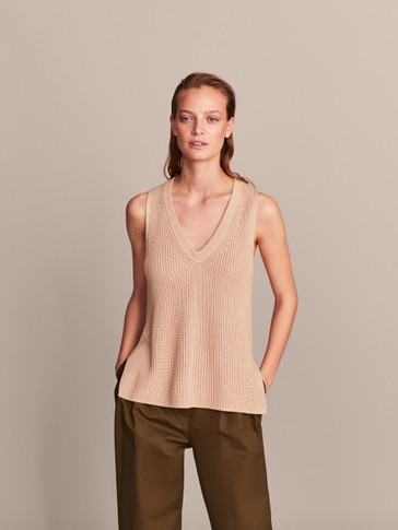 TEXTURED TUNIC TOP