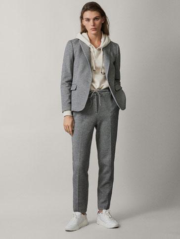 Blazers de mujer massimo dutti colección primavera verano jpg 364x485  Blazer primavera verano tendencias ropa 2015 6cecd99af033