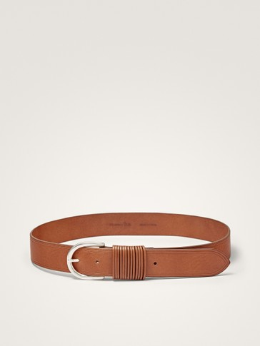 MULTI LOOP LEATHER BELT
