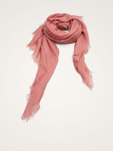 SOLID 100% CASHMERE SCARF