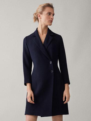 Vestido negro massimo dutti 2015