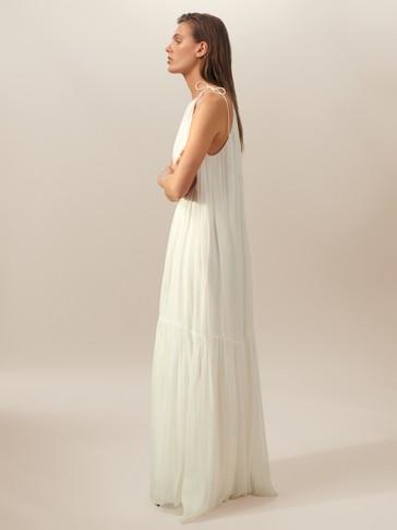 فستان بامبولا بعقدة الأنشوطة إصدار محدود