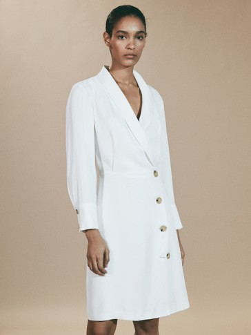 LIMITED EDITION BUTTONED BLAZER DRESS