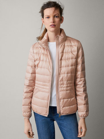 GROSGRAIN DOWN PUFFER JACKET