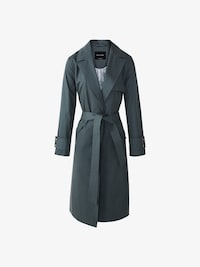 COTTON TRENCH COAT WITH BELT ...