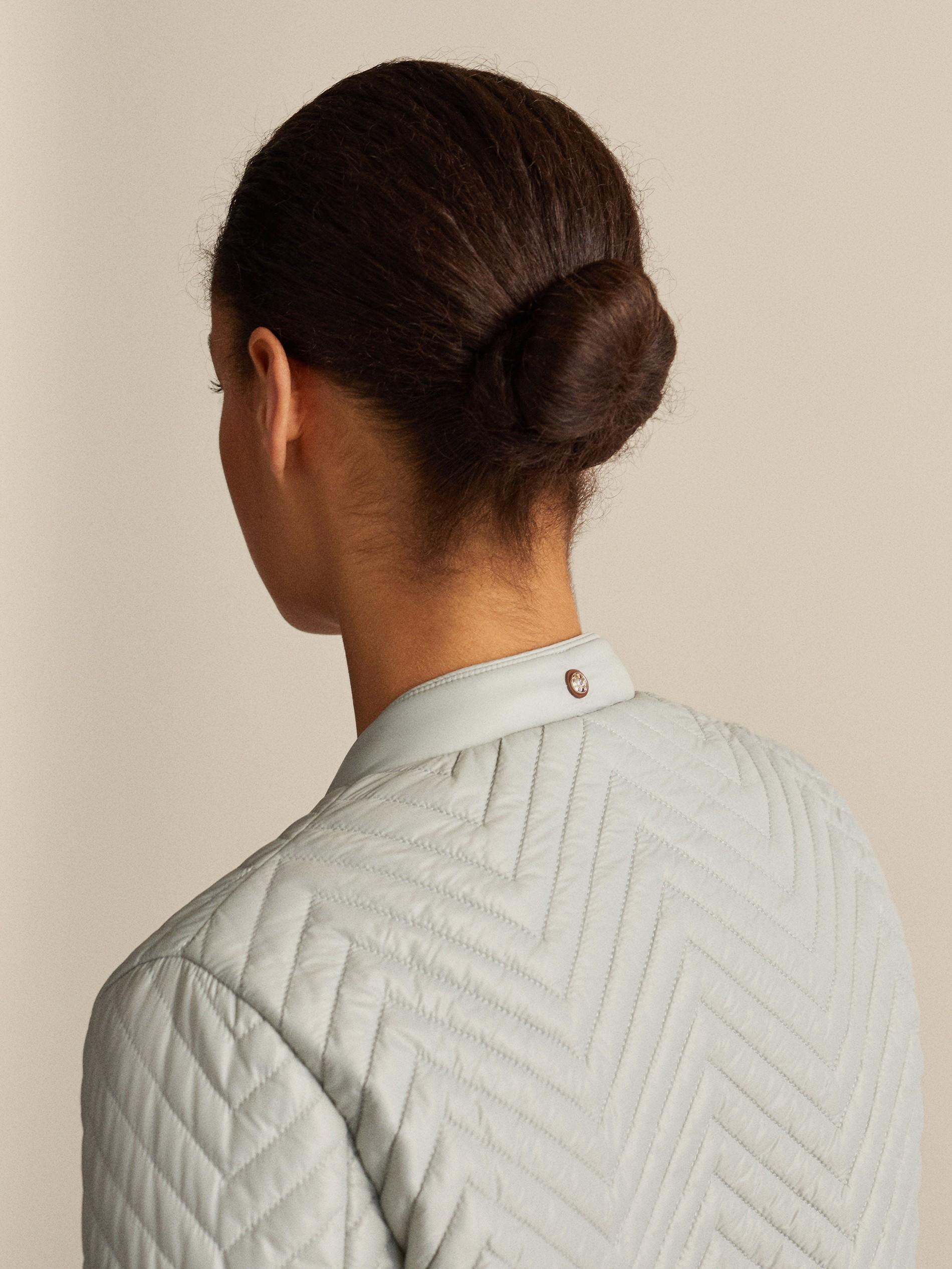 Herringbone Women Massimo Bomber Quilted Jacket Dutti MVUzSp