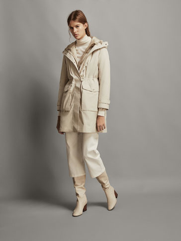 PARKA WITH REMOVABLE LINING
