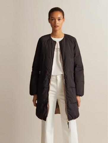 리버시블 페더 재킷