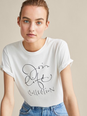 JOIN LIFE COTTON T-SHIRT