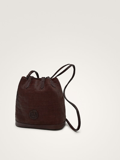 85e4c06f94 BUCKET BAG WITH PLAITED DETAIL