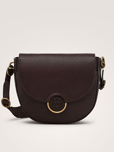 NAPPA HANDBAG WITH LOGO