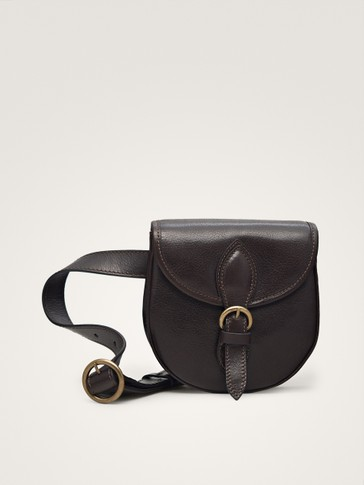 LIMITED EDITION BUCKLED LEATHER BELT BAG