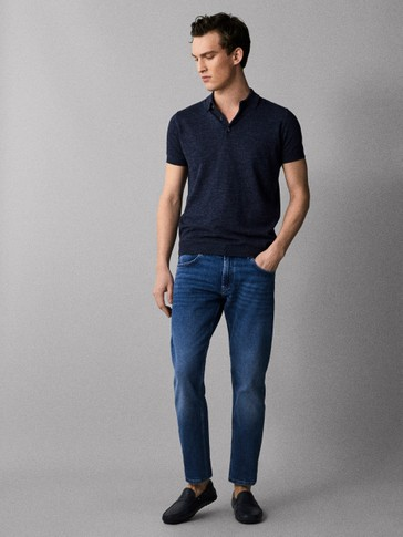 CALÇAS DENIM SLIM FIT