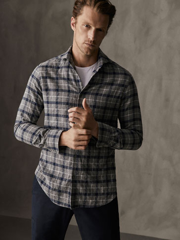 CAMISA COTÓ QUADRES SLIM FIT WINTER CAPSULE