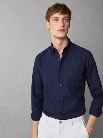 EFFEN OXFORD OVERHEMD REGULAR FIT
