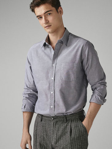 CAMISA ÒXFORD LLISA REGULAR FIT