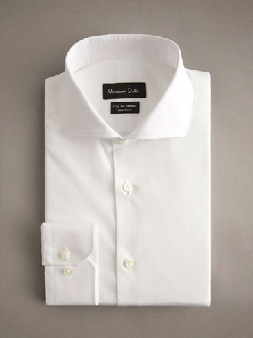 PERSONAL TAILORING SLIM FIT COTTON JACQUARD SHIRT