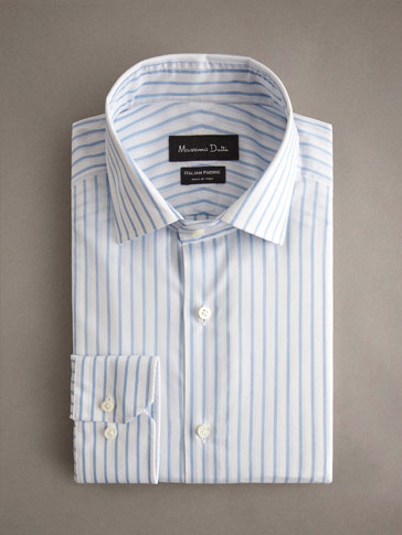 CAMISA ALGODÓN RAYAS SLIM FIT PERSONAL TAILORING