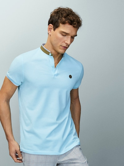 2d8a3128 Stand-Up Collar Polo Shirts - Polos - COLLECTION - MEN - Massimo ...