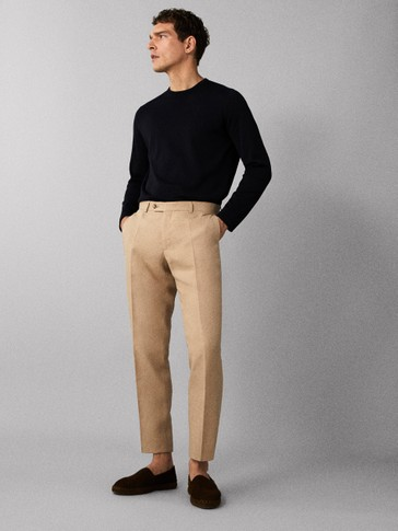 PLAIN 100% EXTRA FINE COTTON SWEATER