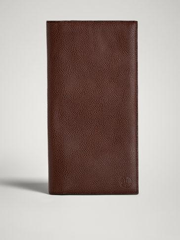 محفظة جلدية منقوشة ترافل LIMITED EDITION