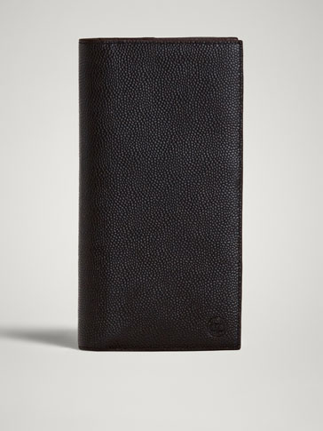 LIMITED EDITION EMBOSSED LEATHER TRAVEL WALLET