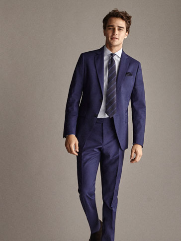 EFFEN WOLLEN BLAZER SLIM FIT TRAVEL SUIT